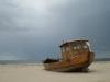 Schiffswrack am Strand von Ahlbeck