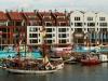 Yachthafen in Danzig an der Mottlau
