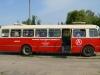 In einem alten Bus zur Rundfahrt über die Werft