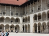 Innenhof im Wawelschloss