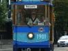 Historische Straßenbahn zum Kaiserwald