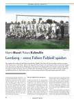 Lemberg: Wenn Falken Fußball spielen
